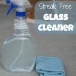Streak Free Glass Cleaner Recipe