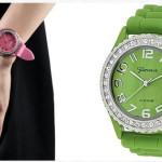 Geneva Platinum Silicone Watch Only $3.99 (Reg. $24.99)
