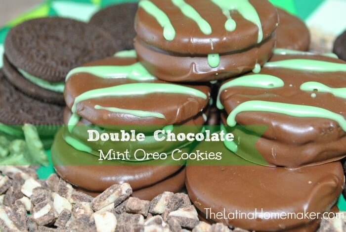 12. Double Chocolate Mint Oreo Cookies