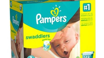 Pampers Swaddlers ONLY 7.9¢ Per Diaper + FREE Shipping