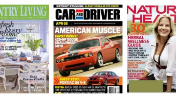 DiscountMags: 2 Magazine Subscriptions For Only $10 – Over 100 Titles