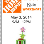 FREE Home Depot Kids Workshop – Build A Flower Planter (5/3/14)
