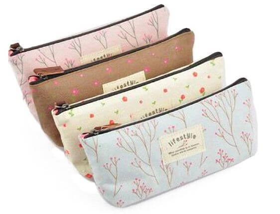 Adorable Canvas Small Bags – 4 for $4.05 + Free Shipping