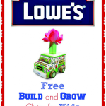 FREE Kids Lowe's Workshop – Build Your Own Flower Delivery Truck (May 10)