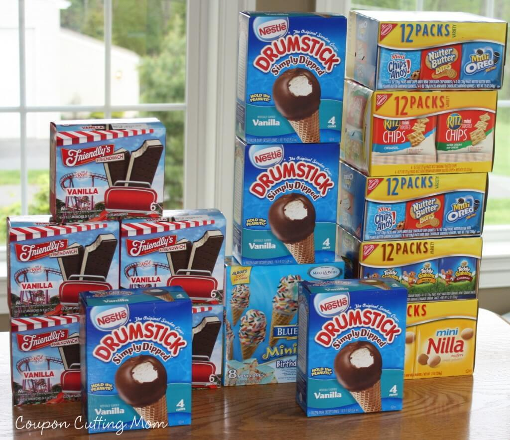 image regarding Friendly's Ice Cream Coupons Printable Grocery known as Large Browsing Getaway: Friendlys Ice Product Sandwiches, Drumsticks