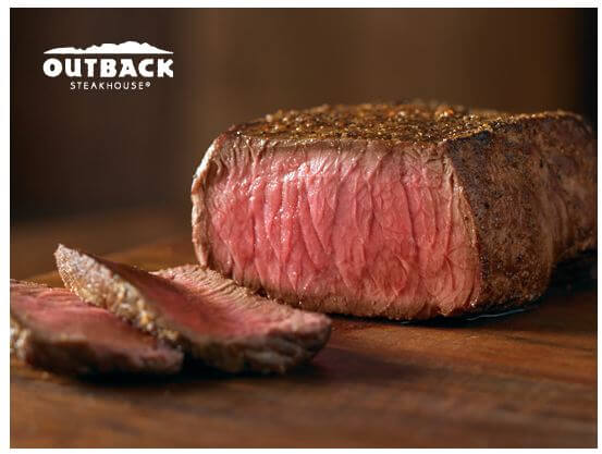 Outback Steakhouse: 20% Off Your Entire Check Coupon