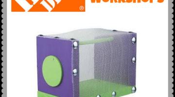 FREE Home Depot Kids Workshop – Build A Bug House (7/5/14)