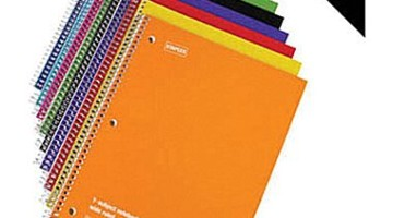 Staples: 1-Subject Notebooks $0.17 Each Shipped