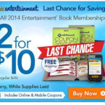 2018 Entertainment Books Only $10.00 (Reg. $35.00) + FREE Shipping