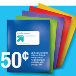 Target: $1.50 Printable School Supply Coupon = FREE Folders and More