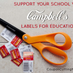 Support Campbell's Labels for Education #Labels4Edu #cbias + Cheesy Spaghetti Bake Recipe