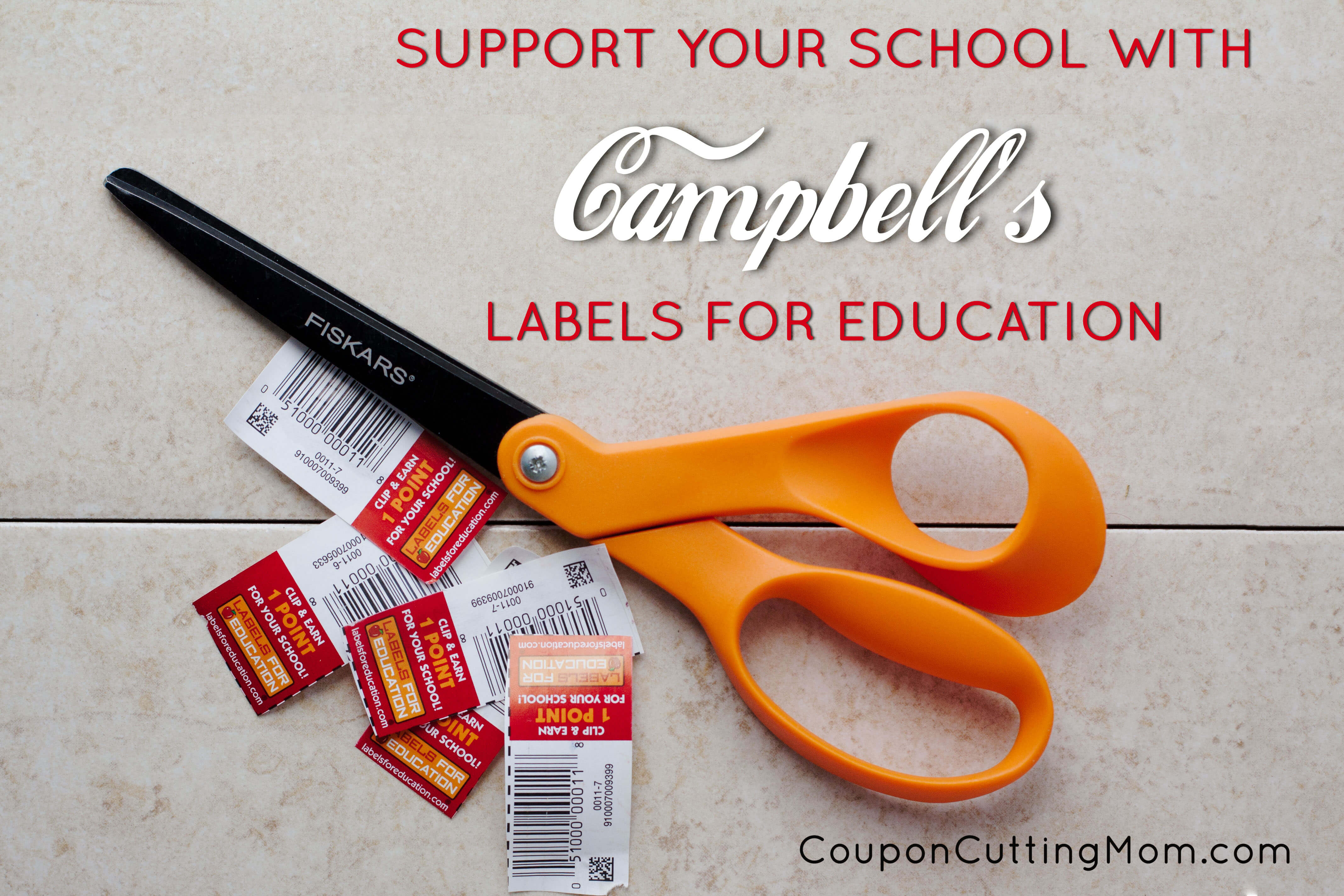 support campbell s labels for education labels4edu