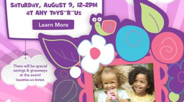 Toys R Us: FREE DohVinci Decorating Event (8/9)