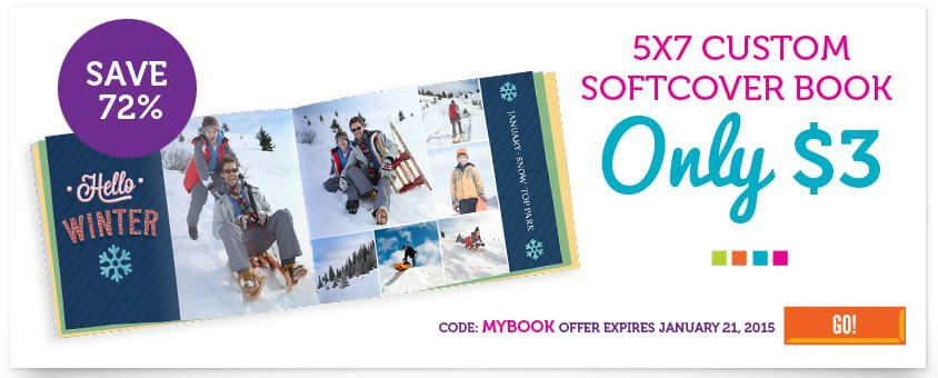 York Photo: Softcover Photo Book ONLY $3 (Reg. $10.99)