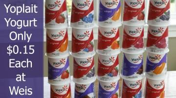 Weis: Yoplait Yogurt Only $0.15