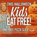 FREE Pizza for Kids at Sbarro on Halloween