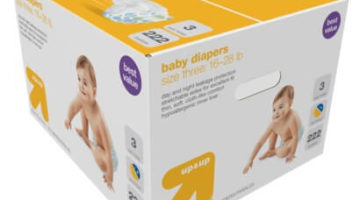 Up & Up Diapers 54% off Regular Price
