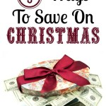 5 Ways To Save Money On Christmas
