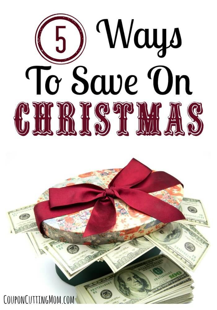 5 Ways To Save On Christmas