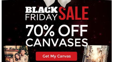 *HOT* Canvas People Black Friday Sale – 70% Off ALL Photo Canvases