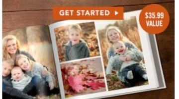 MyPublisher: FREE 20-Page Hardcover Photo Book ($35.99 Value)
