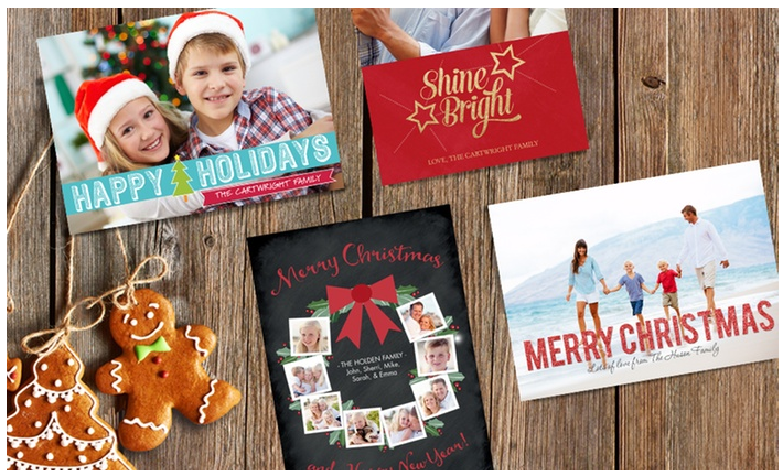 Custom Holiday Cards 68% off Regular Price