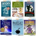Free ebooks: Budget Cookbook, 50 DIY Household Hacks+ More Books