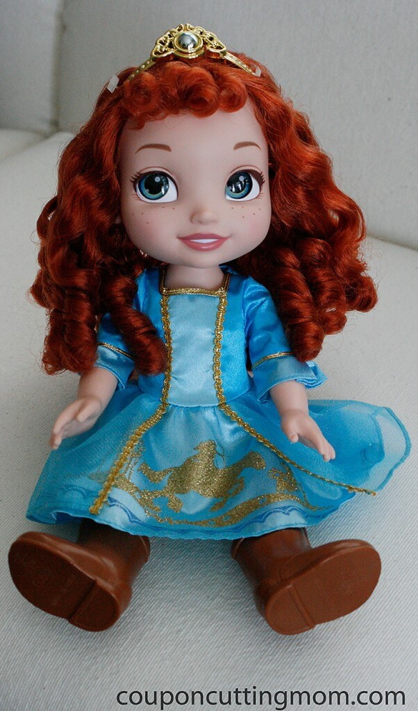 Any Girl Will Love The Toddler Merida Or Baby Anna Doll