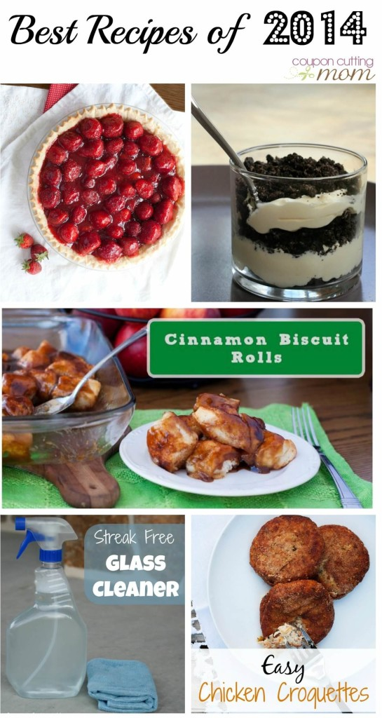 Best Recipes on Coupon Cutting Mom in 2014