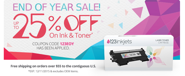 123inkjets ink and toner sale with prices up to 25 off for Ink sale