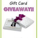 $20 Amazon Gift Card Giveaway