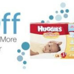 Huggies Diapers 60% Off + FREE Shipping