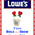 FREE Kids Lowe's Workshop – Build Your Own Sweetheart Picture Holder (February 14)