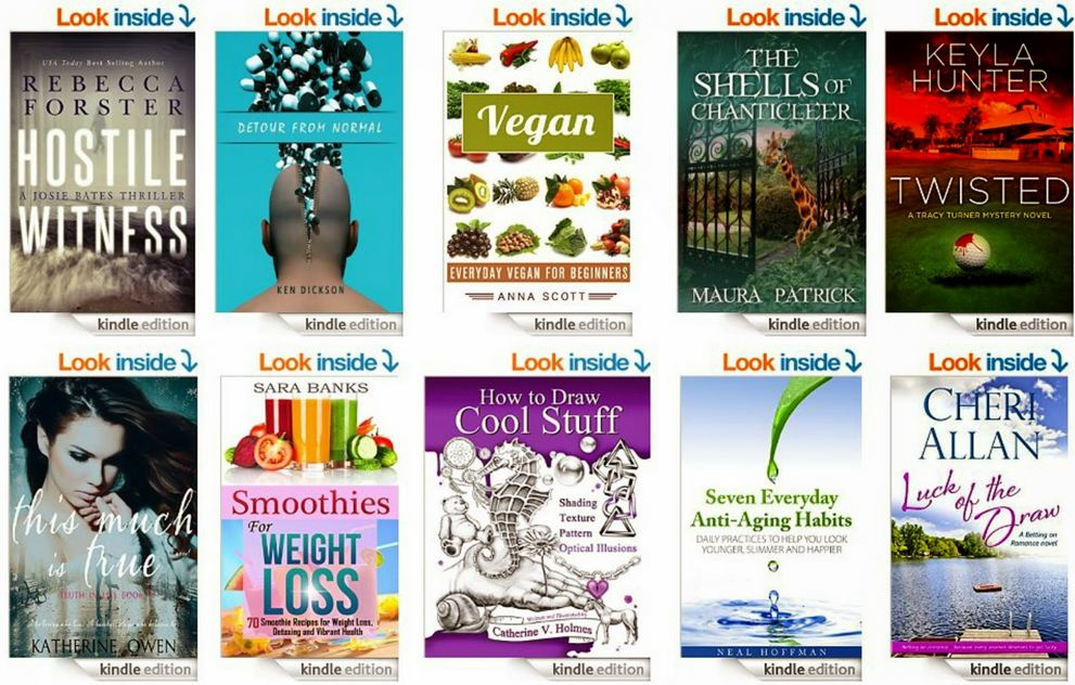 Free ebooks: Smoothies for Weight Loss, How To Draw Cool Stuff + More Books