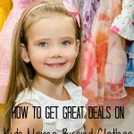 How To Get Great Deals On Kids Name Brand Clothes