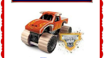 FREE Kids Lowe's Workshop – Build Your Own Monster Jam Truck