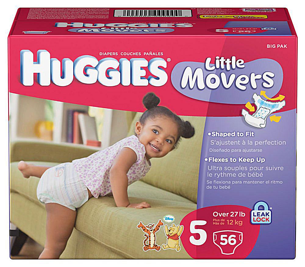 Huggies Big Pack Diapers ONLY $7.16 (Reg. $21.99)