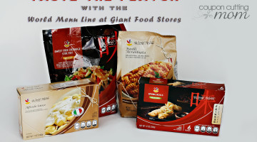 Taste the Flavor With the World Menu Line At GIANT Food Stores