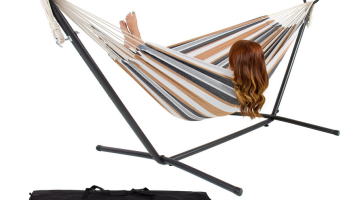 Double Hammock With Stand 56% off Regular Price + FREE Shipping