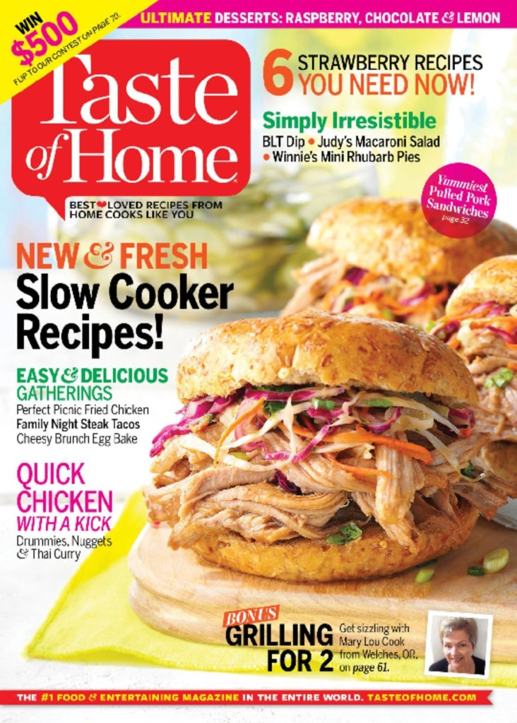 Taste of Home Magazine Subscription 70% off Cover Price