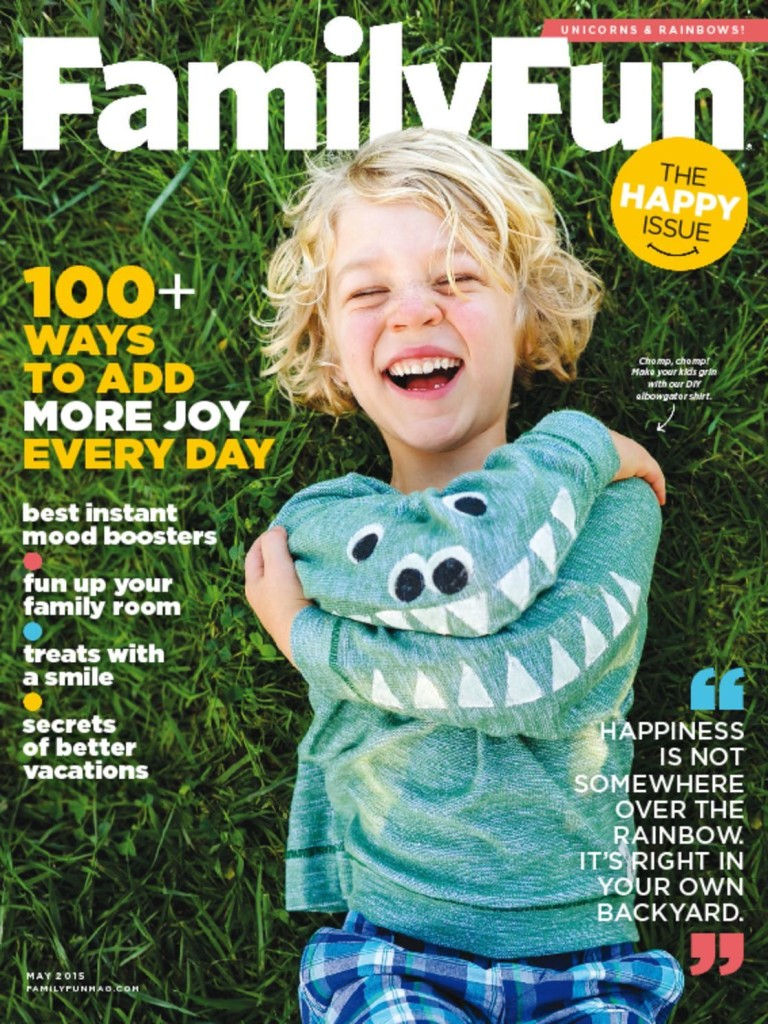 Save 85% on a Year of Family Fun Magazine
