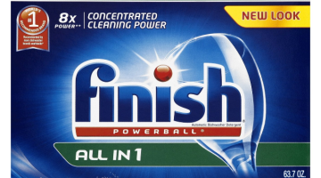 Finish Powerball Dishwasher Detergent ONLY $0.12 Per Tab + FREE Shipping