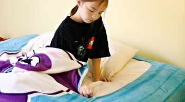 Zippy Sack is the Easy Way for Kids to Make Their Beds