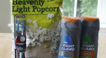 CVS: $18.56 Worth of Right Guard Body Wash, Popcorn and More for FREE