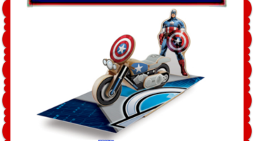 FREE Kids Lowe's Workshop – Build Your Own Captain America Motorcycle