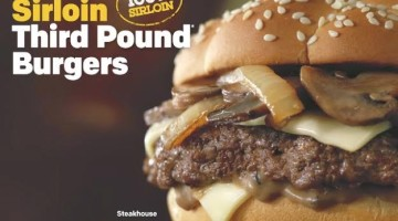 New Sirloin Third Pound Burgers at McDonald's + a Giveaway
