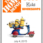 FREE Home Depot Kids Workshop – Build A Minions Scooter