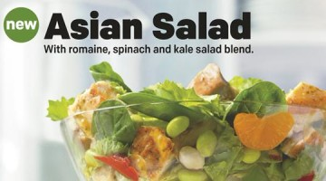 McDonald's Asian Salad Returns to the Premium Salad Menu + a Coupon Giveaway