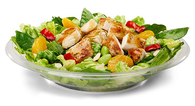 asian mcdonalds value salad of Nutritional