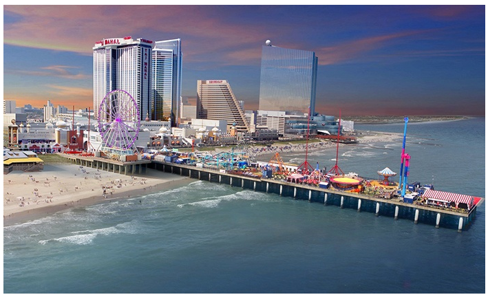 Spend some time on the Boardwalk and try your luck at blackjack, poker, and other games at Bally's Atlantic City. The resort casino, owned by major player Caesar's Entertainment Corporation, offers lots of table games, plus slots and video poker to suit every gaming taste.